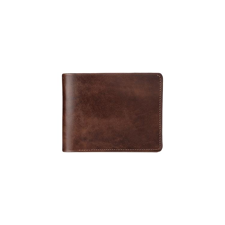 تصویر کیف پول چرم جیبی کد P10 قهوه ای