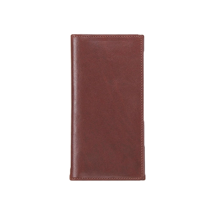 تصویر کیف پول چرم کتی  کد W1 قهوه ای