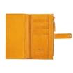 تصویر کیف پول زنانه چرم Z11 پرتقالی